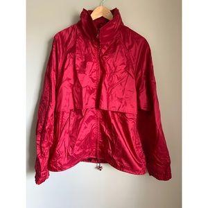 EDDIE BAUER Men's Red Windbreaker Jacket |…